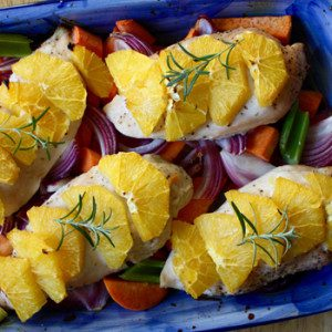 Baked-Chicken-with-Carrots-Oranges-and-Sweet-Potatoes